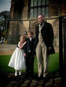 My Victorian morning suit